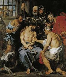 La coronación de espinas de Van Dyck